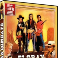 Cine: EL GRAN COMBATE + BSO (CHEYENNE AUTUMNAKA). Lote 156476984