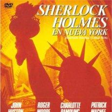 Cine: SHERLOCK HOLMES EN NUEVA YORK (SHERLOCK HOLMES IN NEW YORK). Lote 150902006