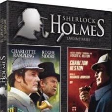 Cine: SHERLOCK HOLMES EN NUEVA YORK / SHERLOCK HOLMES : EL CRUCIFIJO DE SANGRE. Lote 150905248