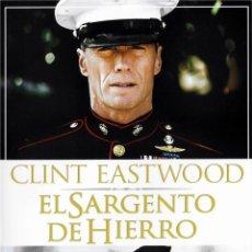 Cine: EL SARGENTO DE HIERRO (COLECCION CLINT EASTWOOD) (HEARBREAK RIDGE). Lote 150908396