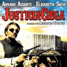 Cine: JUSTICIA CIEGA (BLIND JUSTICE). Lote 150916282