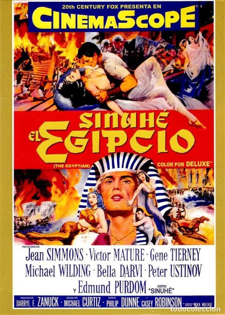 SINUHE, EL EGIPCIO (THE EGYPTIAN) (Cine - Películas - DVD)