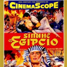Cine: SINUHE, EL EGIPCIO (THE EGYPTIAN). Lote 150916422