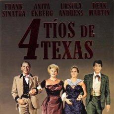 Cine: 4 TIOS DE TEXAS (4 FOR TEXAS). Lote 150916854