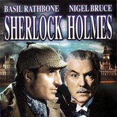 Cine: SHERLOCK HOLMES -PACK 4 DVDS. Lote 150917989