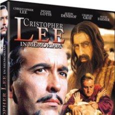 Cine: CHRISTOPHER LEE IN MEMORIAM. Lote 150920900