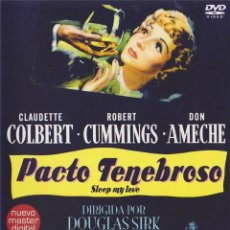 Cine: PACTO TENEBROSO (SLEEP, MY LOVE). Lote 150922069