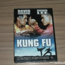 Cine: KUNG FU DVD DAVID CARRADINE BRANDON LEE NUEVA PRECINTADA. Lote 218918546
