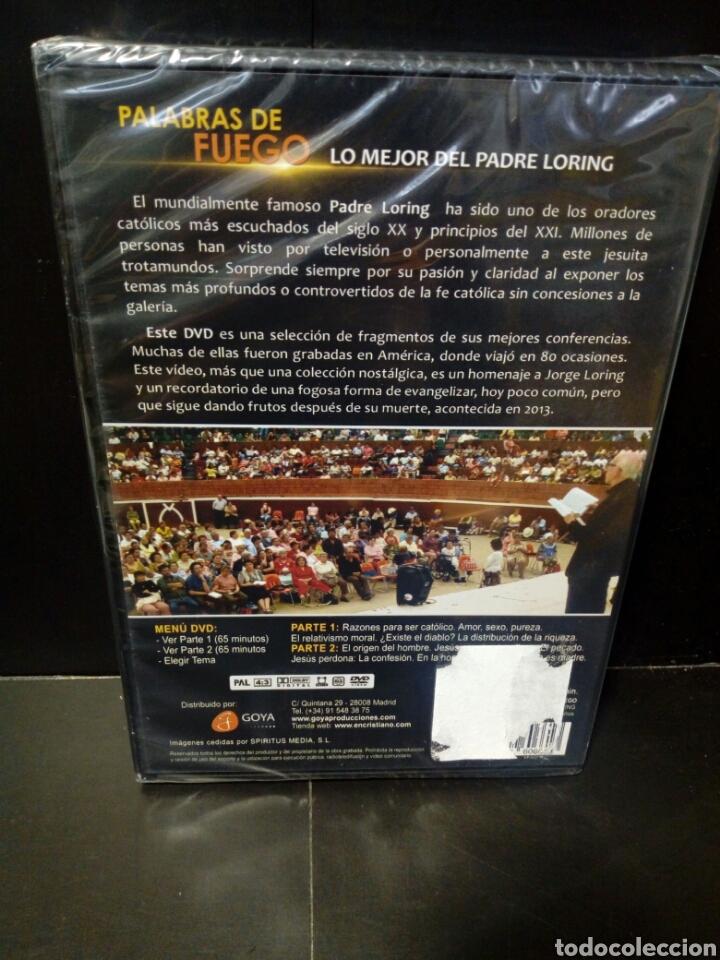 Cine: Palabra de fuego lo mejor del Padre Loring DVD documental - Foto 2 - 150994861