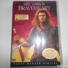 Cine: BRAVEHEART -DVD- EDICIÓN COLECCIONISTAS DOS DISCOS. Lote 151016318