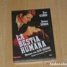 Cine: LA BESTIA HUMANA DVD JEAN GABIN SIMONE SIMON NUEVA PRECINTADA. Lote 279367948