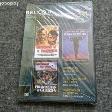 Cine: DVD CICLO BELICO - INFIERNO EN EL PACIFICO - PRISIONERAS DE GUERRA - ATAQUE DURO. Lote 151101750