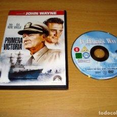 Cine: PRIMERA VICTORIA (LA COLECCIÓN JOHN WAYNE). PELÍCULA DVD. AÑO 1965. BARCODE: 8414906413444. Lote 151115010
