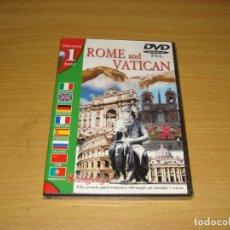 Cine: ROME AND VATICAN (VIRGILIO.IT). PELÍCULA DVD 1 HORA. 1998. ALPA ITALIA. PRECINTADO. Lote 151125018