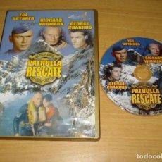 Cine: PATRULLA DE RESCATE (FLIGHT FROM ASHIYA) . 1964 . DVD. CASTELLANO / INGLÉS. BARCODE 8437005055599. Lote 151128890