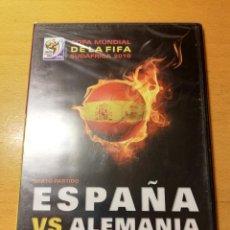 Cine: ESPAÑA VS ALEMANIA. SEXTO PARTIDO (COPA MUNDIAL DE LA FIFA SUDÁFRICA 2010) DVD PRECINTADO. Lote 151172102