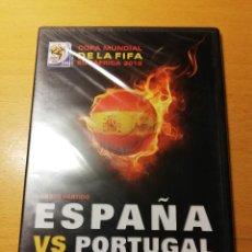 Cine: ESPAÑA VS PORTUGAL. CUARTO PARTIDO (COPA MUNDIAL DE LA FIFA SUDÁFRICA 2010) DVD PRECINTADO. Lote 151172370
