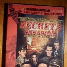 Cine: PELICULA EN DVD - LA SEGUNDA GUERRA MUNDIAL EN EL CINE 31 - SECRETA INVASIÓN - SLIM . Lote 151176902