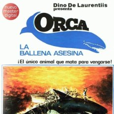 Cine: ORCA LA BALLENA ASESINA RICHARD HARRIS. Lote 151223142