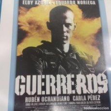 Cine: GUERREROS EDUARDO NORIEGA. Lote 151309210