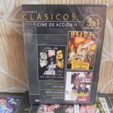 Cine: GRANDES CLÁSICOS - DVD - CINE DE ACCIÓN II - 3 PELÍCULAS . Lote 151327702