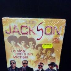 Cine: LOS JACKSON- LA VIDA CON Y SIN MICHAEL DVD. Lote 151361113