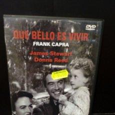 Cine: QUÉ BELLO ES VIVIR DVD. Lote 151363354
