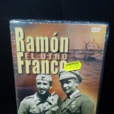 Cine: RAMÓN EL OTRO FRANCO DVD DOCUMENTAL. Lote 151364498