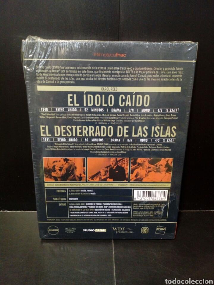 Cine: el ídolo caído- el desterrado de las islas- dvd Filmoteca Fnac - Foto 2 - 151366080