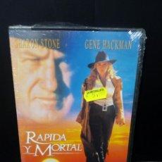 Cine: RÁPIDA Y MORTAL DVD. Lote 151366848