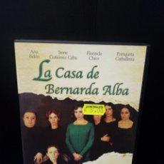 Cine: LA CASA DE BERNARDA ALBA DVD. Lote 151370109