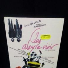 Cine: QUÉ ALEGRÍA VIVIR DVD. Lote 151374762