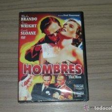 Cine: HOMBRES DVD DE FRED ZINNEMANN MARLON BRANDO TERESA WRIGHT NUEVA PRECINTADA. Lote 159307633