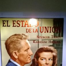 Cine: EL ESTADO DE LA UNION DE FRANK CAPRA CON SPENCER TRACY KATHERINE HEPBURN COMO NUEVA. Lote 151456154