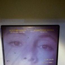 Cine: TIERRA DE ARMARIOS CLOSET LAND ALAN RICKMAN MADELEINE STOWE COMO NUEVA DVD. Lote 151457790