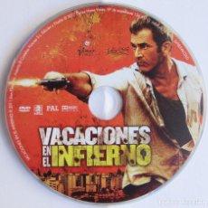 Cine: VACACIONES EN EL INFIERNO - ADRIAN GRUNBERG - VENTA DEL DVD PROCEDENTE DEL COMBO DE LA IMAGEN. Lote 151460050