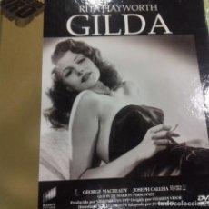 Cine: GILDA RITA HAYWORTH DVD-LIBRO . Lote 151543806