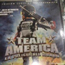 Cine: TEAM AMERICA LA POLICÍA DEL MUNDO TREY PARKER. Lote 151544094