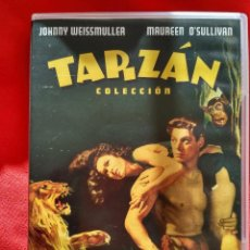 Cine: TARZAN COLECCION--- 6 DVD--12 PELICULAS --JOHNNY WEISSMULLER MAUREN O'SULLIVAN . Lote 151544098