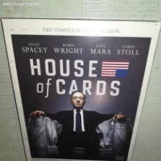 Cine: DVD. HOUSE OF CARDS. Lote 151544742