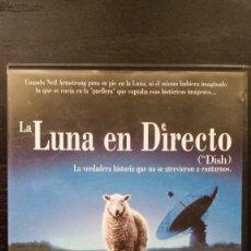 Cine: LA LUNA EN DIRECTO (DISH) LA VERDADERA HISTORIA QUE NO SE ATREVIERON A CONTARNOS. Lote 151547766