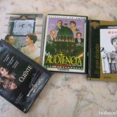 Cine: 4 DVD EL CLIENTE LA AUDIENCIA EL APARTAMENTO EL GRAN DICTADOR. Lote 151549762