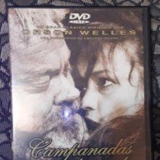 Cine: CAMPANADAS A MEDIANOCHE Y CIUDADANO KANE- ORSON WELLES 2 DVDS. Lote 151552230