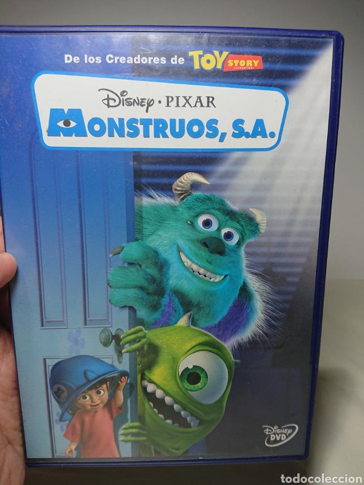 MONSTRUOS SA, S.A. - DVD PIXAR DISNEY (Cine - Películas - DVD)