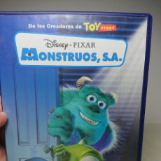 Cine: MONSTRUOS SA, S.A. - DVD PIXAR DISNEY. Lote 151552817