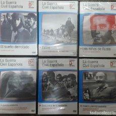 Cine: DVD - CINE / LA GUERRA CIVIL ESPAÑOLA LOTE DE 6 DVD'S NUEVOS Y PRECINTADOS. Lote 151554986