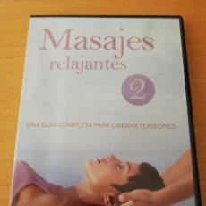 Cine: MASAJES RELAJANTES Nº 2 . UNA GUÍA COMPLETA PARA LIBERAR TENSIONES (DVD). Lote 151594614