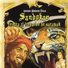 Cine: SANDOKAN CONTRA EL LEOPARDO DE SARAWAK RAY DANTON . Lote 151634510