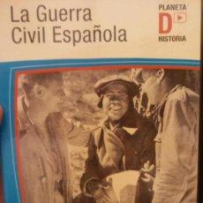 Cine: BJS.DVD.LA GUERRA CIVIL ESPAÑOLA.LA GUERRA DE LOS IDEALISTAS.BRUMART TU CINE.. Lote 151720378
