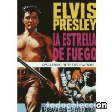 Cine: LA ESTRELLA DE FUEGO DIRIGIDA POR DON SIEGEL PROTAGONIZADA POR ELVIS PRESLEY, STEVE FORREST. Lote 151721890